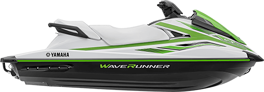 yamaha waverunners vx 2018 white side profile